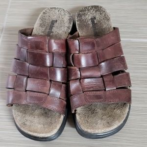 Timberland Shoes - Timberland brown leather sandals size 7